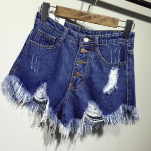 best plus size jean shorts