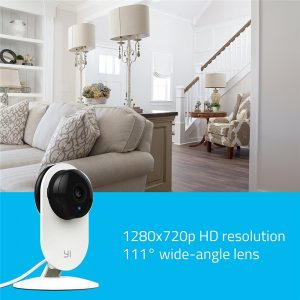 YI Home Camera 720P Night Vision Video Monitor IP/Wireless Network Surveillance Home Security Internation Version (US/EU) 1