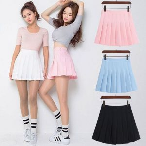 short pleated skirt buy