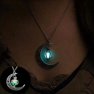 glowing necklace for sale