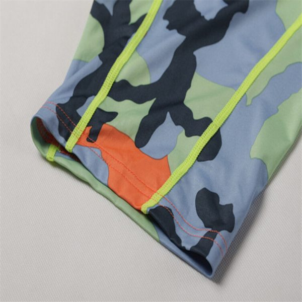 Summer Camouflag Running Shorts GYM Short Pants Quick-drying Stretch Football Trousers Jogging Compression Tights Fitness Men 4