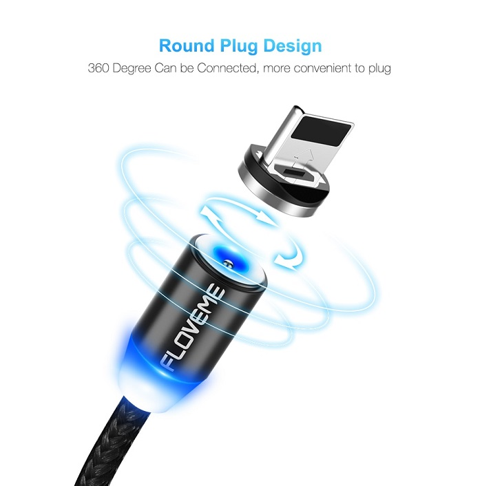 iphone charger magnetic cable