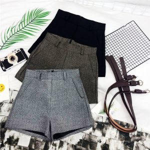 winter shorts for womens