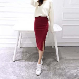 pencil women's midi skirts