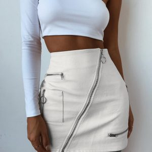 buy leather skirts online