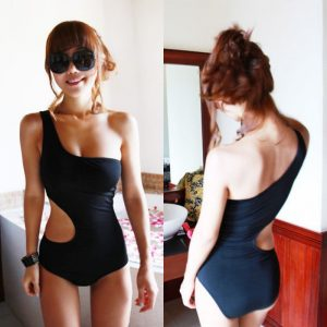 best one shoulder swimsuits