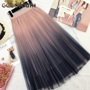 buy long tulle skirt