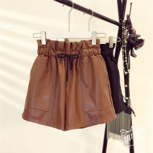 buy leather shorts online