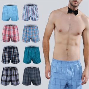 best men's plaid boxers