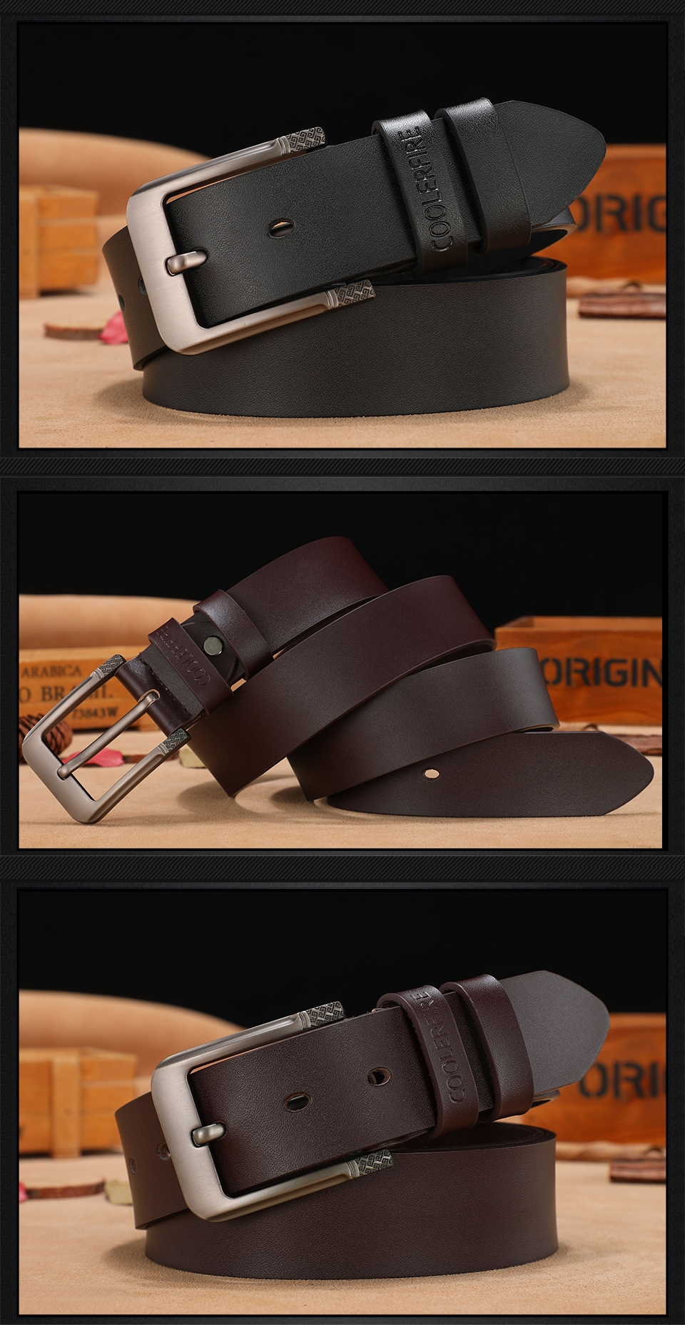 cheap leather belts online