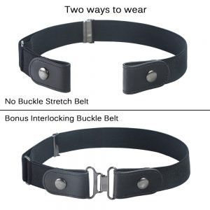 women's no buckle belt