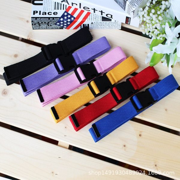 ladies cotton webbing belt