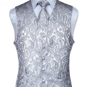 mens vest and tie set