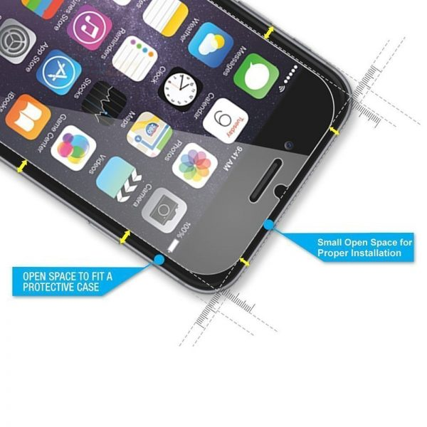 tempered glass on iphone