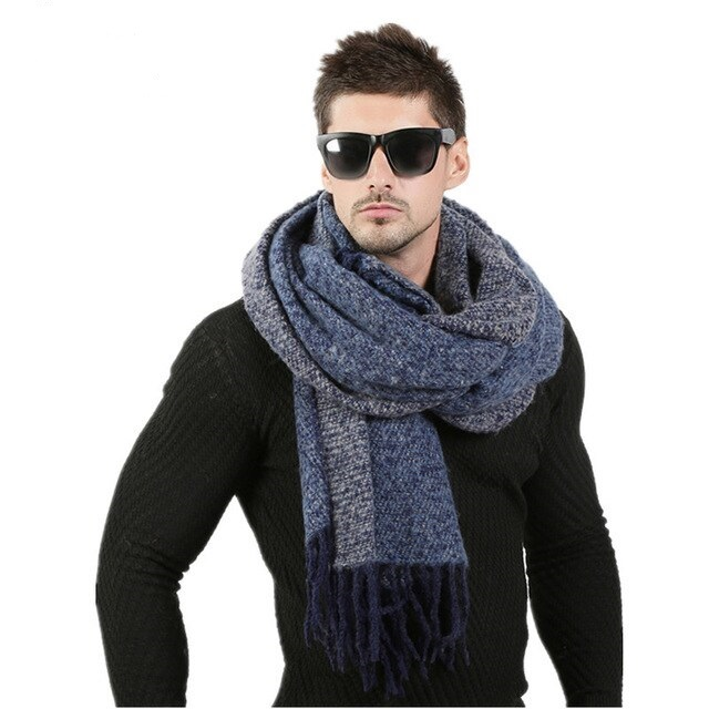 8c83b9e39 Best Mens Scarf, Long, Wool, Knitted, Cashmere, 70cm*200cm
