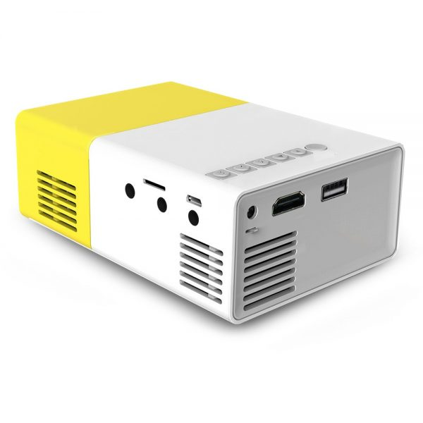 Coolux YG300 YG-300 Mini LCD LED Projector 400-600LM 1080p Video 320 x 240 Pixel Best Home Proyector 4