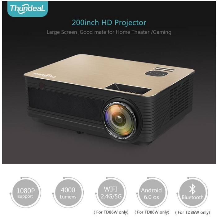 best bluetooth projector