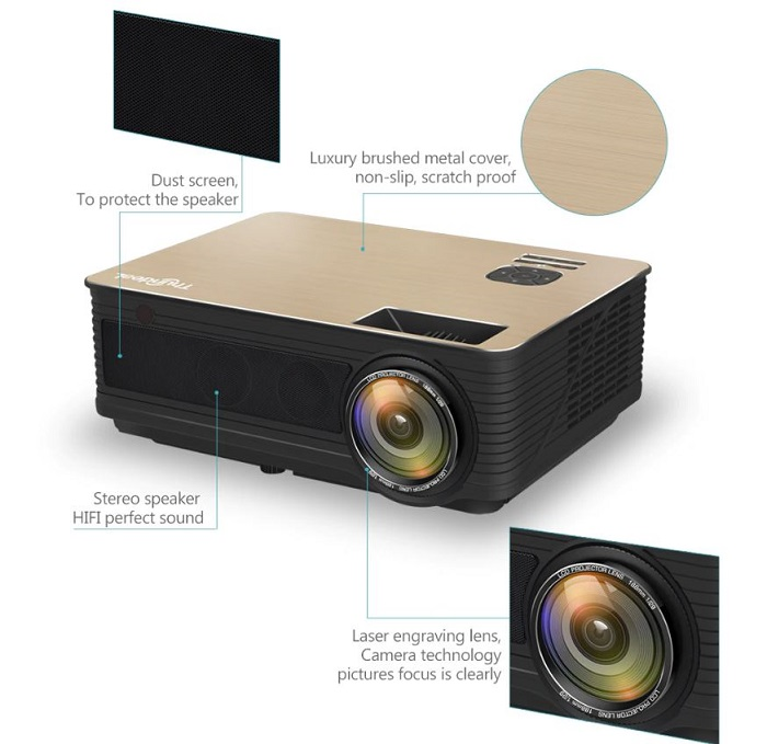 hd projector for home