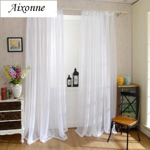 voile curtains online