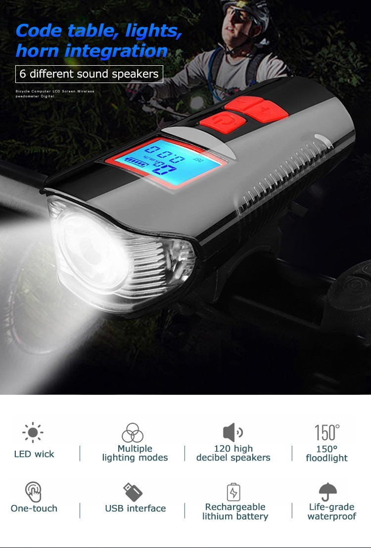 best bicycle front light
