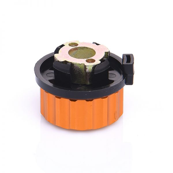Outdoor Camping Hiking Stove Burner Adaptor Split Type Furnace Converter Connector Auto-off Gas Cartridge Tank cylinder Adapter 2