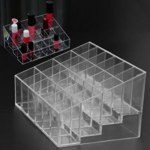 grid makeup organizer