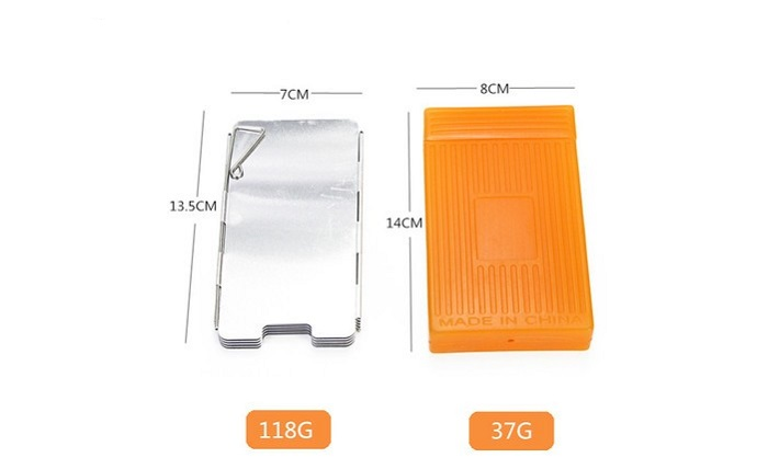 best camping stove windshield