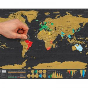 world map wall stickers online