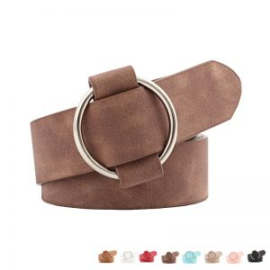 ladies leather belts online