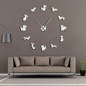 big mirror wall clocks