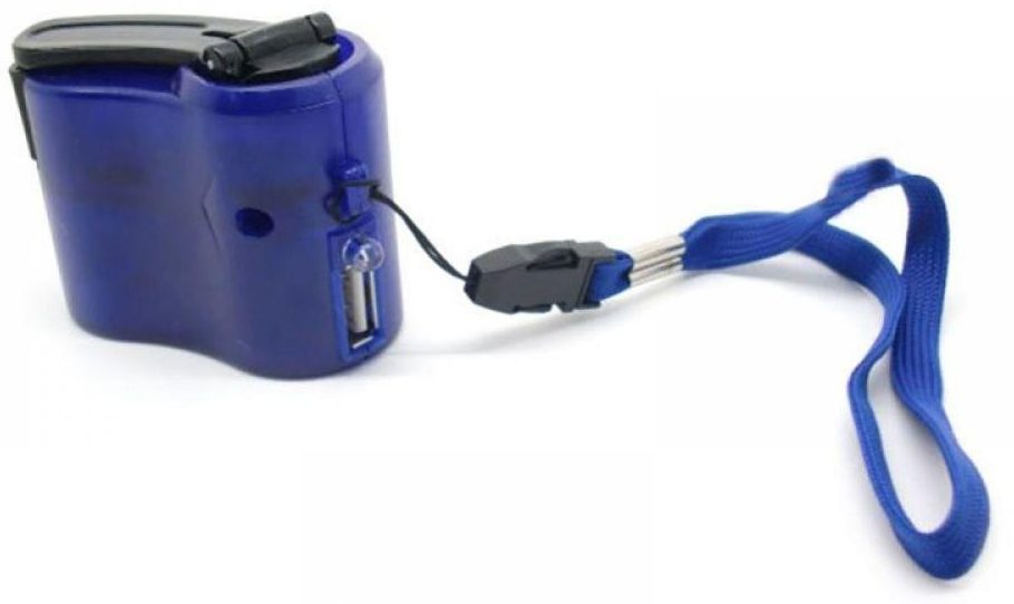 usb hand crank charger