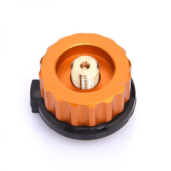 Outdoor Camping Hiking Stove Burner Adaptor Split Type Furnace Converter Connector Auto-off Gas Cartridge Tank cylinder Adapter 1