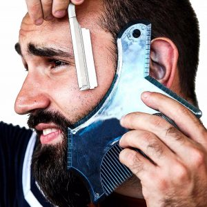 beard comb for shaving