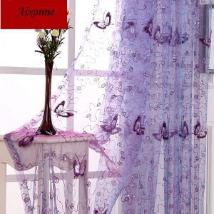 buy voile curtains