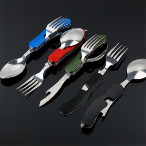 4 in 1 outdoor tableware