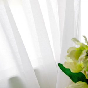 buy white curtains online