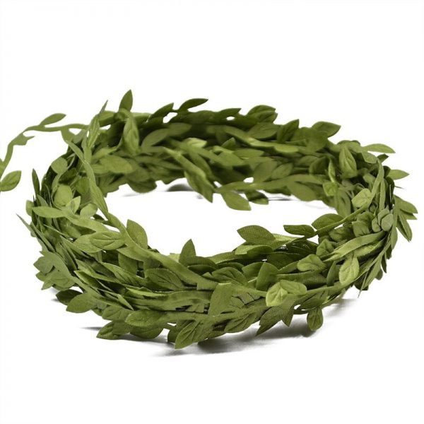 artificial wreath leaves