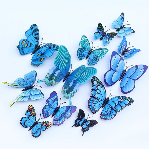 butterfly wall stickers 3d