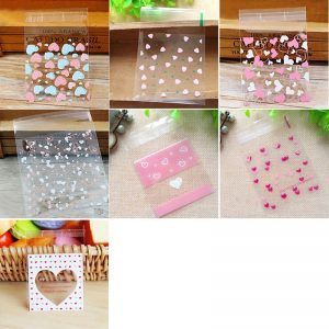 clear plastic cookie bag