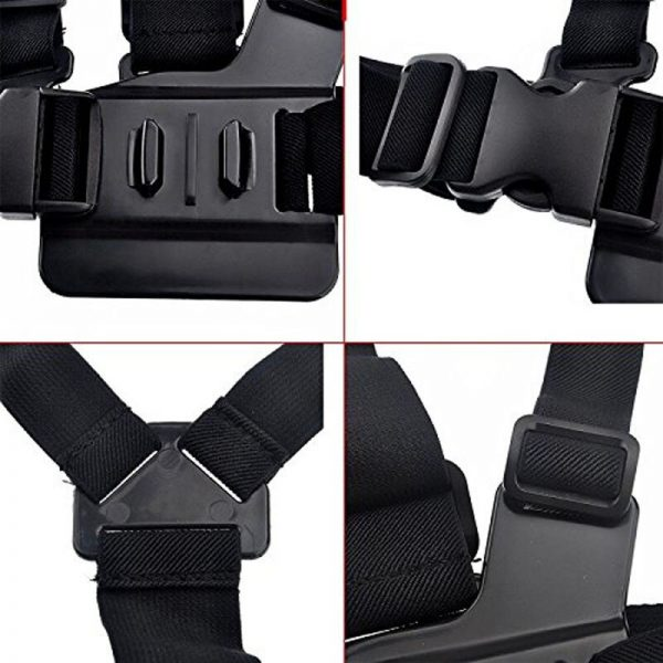 chest belt strap mount