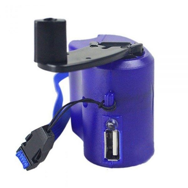 best usb hand crank charger