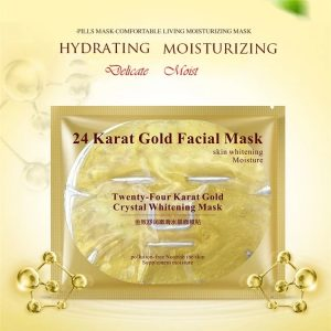 korean gold face mask