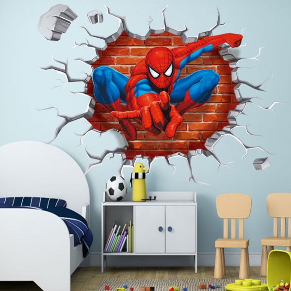 spiderman wall sticker for sale