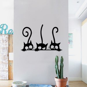 buy cat wall decals