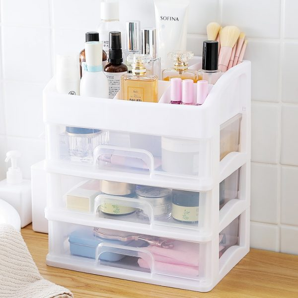 plastic makeup storage boxes