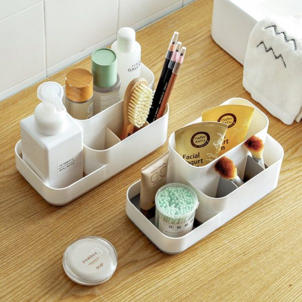 white bathroom box