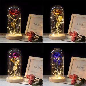 buy eternal rose with lights
