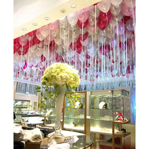 Free Shipping 100 Points Balloon Attachment Glue Dot Attach Balloons To Ceiling Or Wall Stickers Birthday Party Wedding Supplies 2