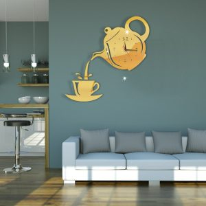 teapot wall clock