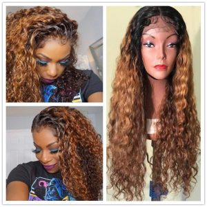 best lace front curly wigs